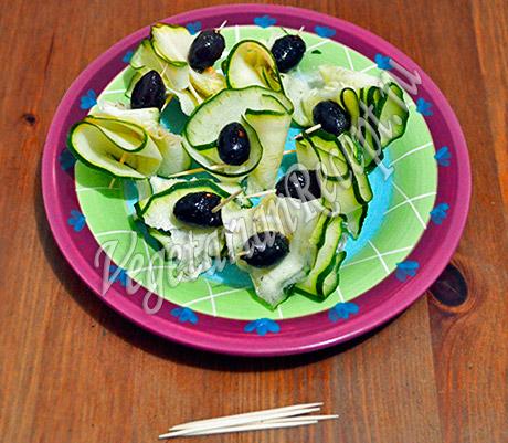 кабачки с оливками