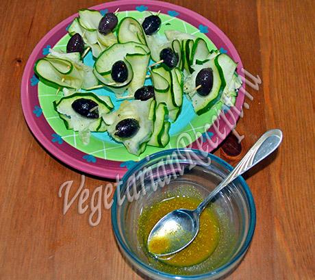 закуска из сырых кабачков рецепт