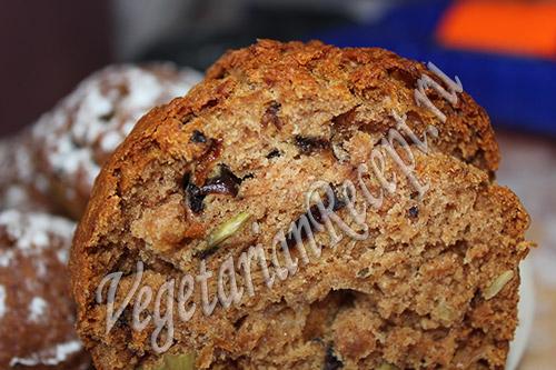 постные кексы рецепт с фото