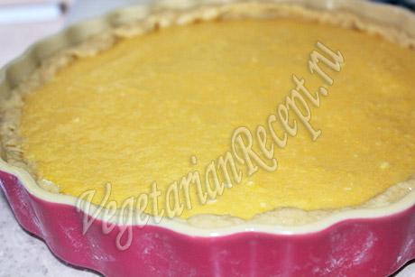 апельсиновый пирог - постный рецепт