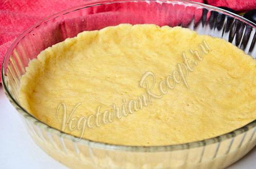 Пирог со сливами - основа из теста