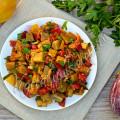 Рагу из баклажанов - рецепт с фото