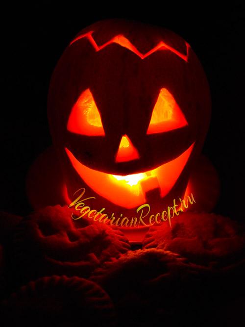 Halloween печенье и тыква