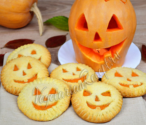 печенье на Хэллоуин фото