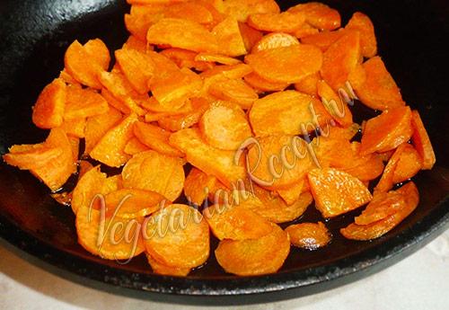 пассеруем морковь