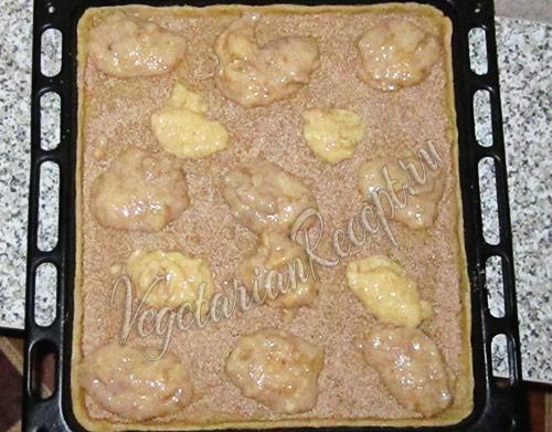 готовим пирог с банановой начинкой