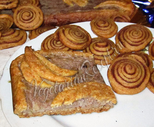 банановый пирог Обезьяна