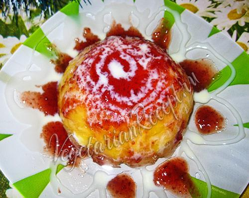 фрукты в желе