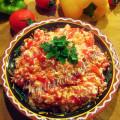молдавская икра из перца и брынзы