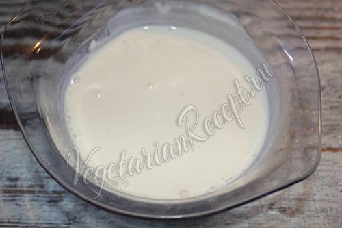 жидкая смесь для приготовления кекса с маком