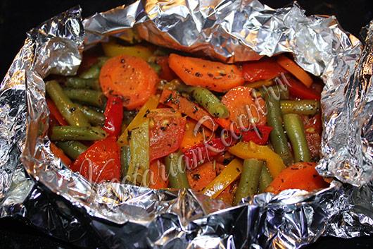 печеные в духовке овощи