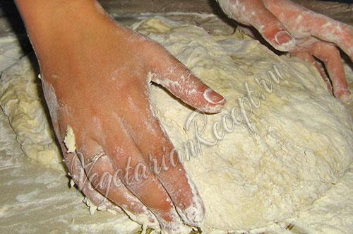 тесто для пампушек без дрожжей