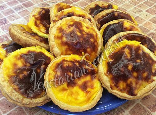 паштейш - португальское пирожное