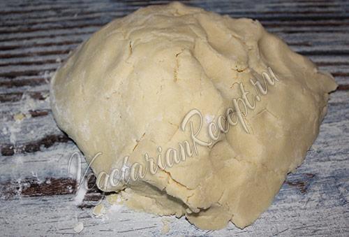 мягкое рассыпчатое песочное тесто для печенья