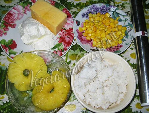 рис, ананас и другие продукты