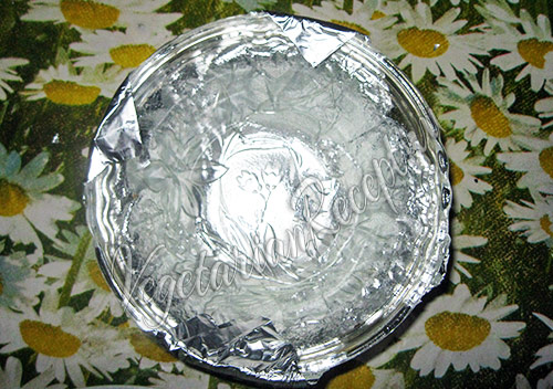 форма из фольги