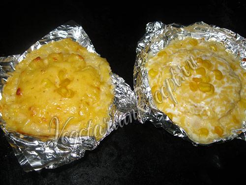 запекаем рис с ананасами