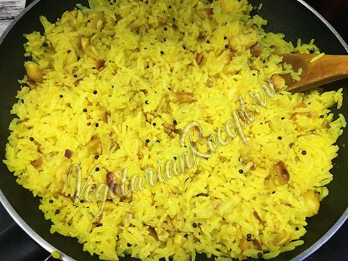 рис с кешью рецепт