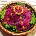 салат из свеклы с брынзой