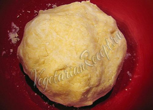 творожное тесто для штруделя готово