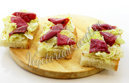 бутерброды с болгарским перцем