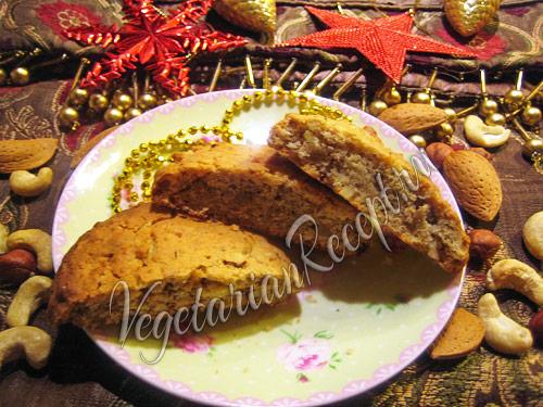 коржики с орехами - рецепт