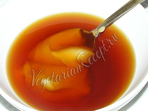 узвар с медом
