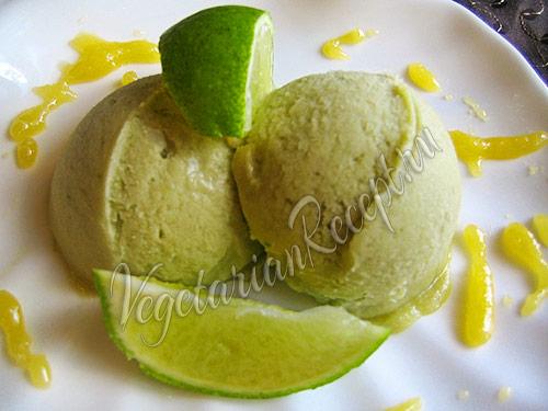 мороженое из авокадо рецепт