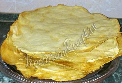 готовые коржи для торта наполеон