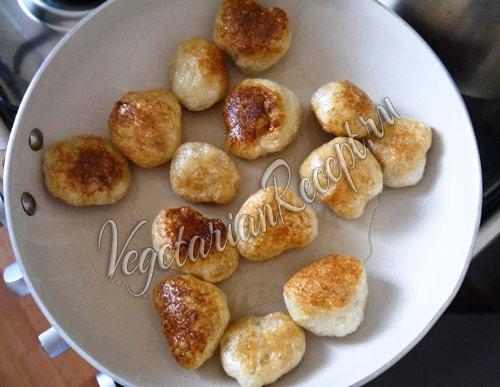 Пончики - блюдо из сейтана