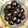 Шоколадное печенье с джемом