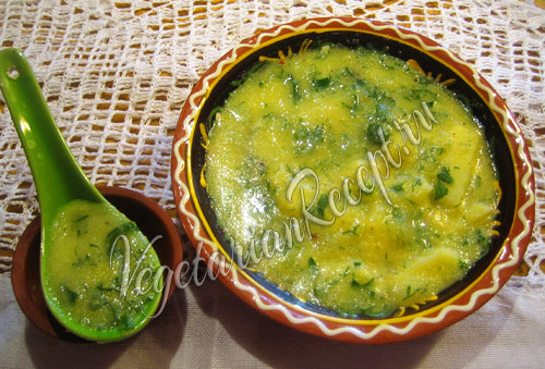 суп на сыворотке Сырбушка