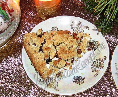 Творожный пирог - рецепт с фото