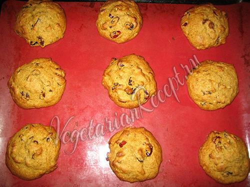 тыквенное печенье готово