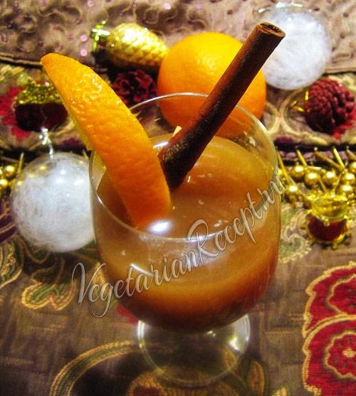 яблочный пунш безалкогольный