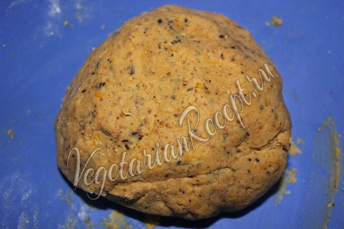 апельсиновое тесто для печенья