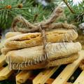 хрустящие хлебные палочки из теста