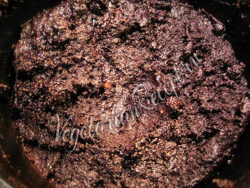 смесь с какао, черносливом, орехами