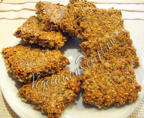 мульти зерновые крекеры - датский рецепт