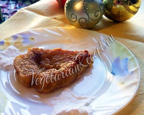 оладьи из тыквы - постный рецепт