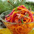 салат с репой, морковью, тыквой