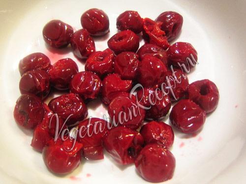 вишни для маффинов