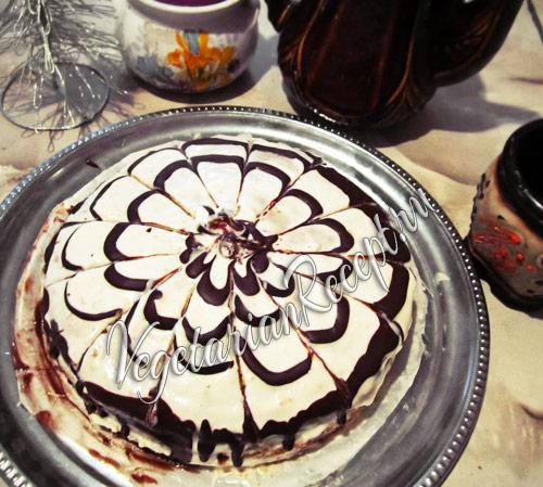 торт мокрый - рецепт