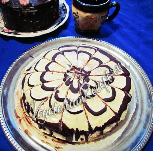 мокрый торт