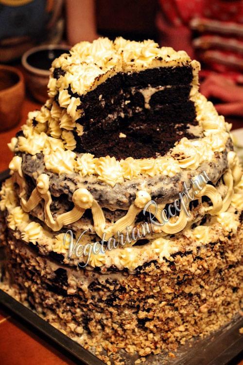торт с кэробом