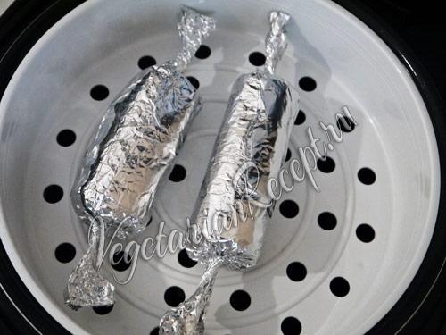 приготовление вегетарианской колбасы
