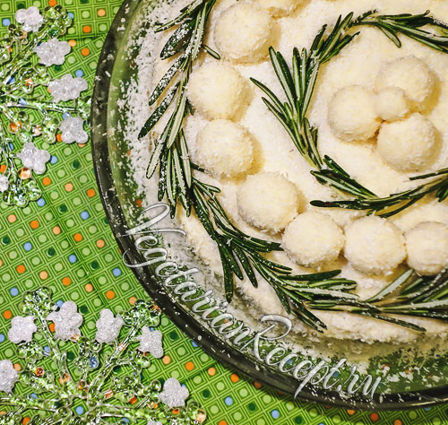 """Зеленый торт """"Зимнее вдохновение"""""""