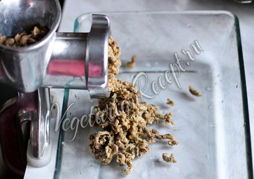 чечевичный фарш для пирога