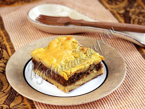 пастуший пирог с чечевицей
