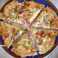 Рецепт: быстрая пицца на сковороде